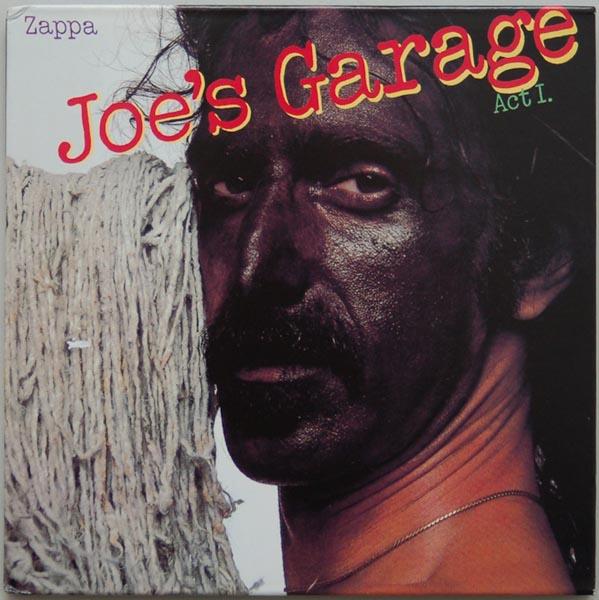 Front Cover, Zappa, Frank - Joe's Garage Act I