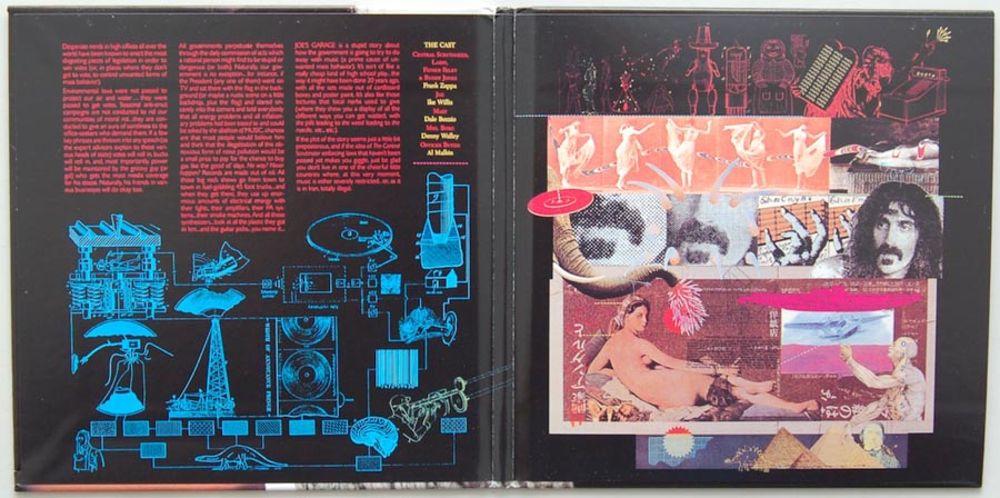 Gatefold open, Zappa, Frank - Joe's Garage Act I
