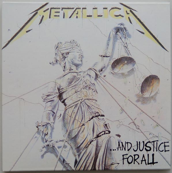 Front Cover, Metallica - ...And Justice for All