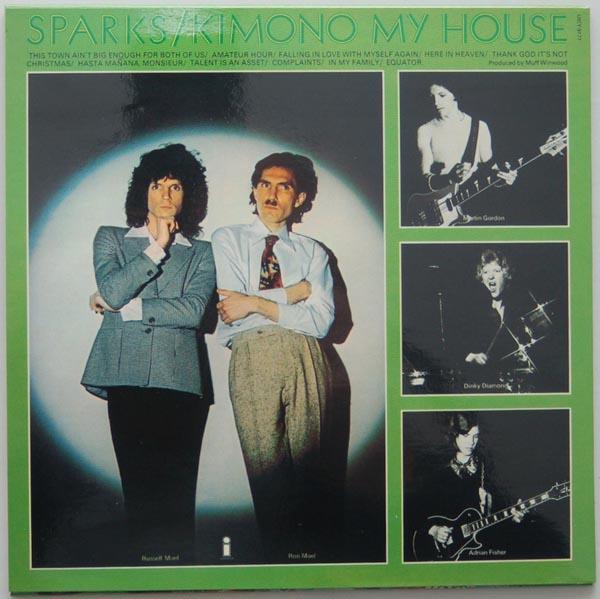 Back cover, Sparks - Kimono My House