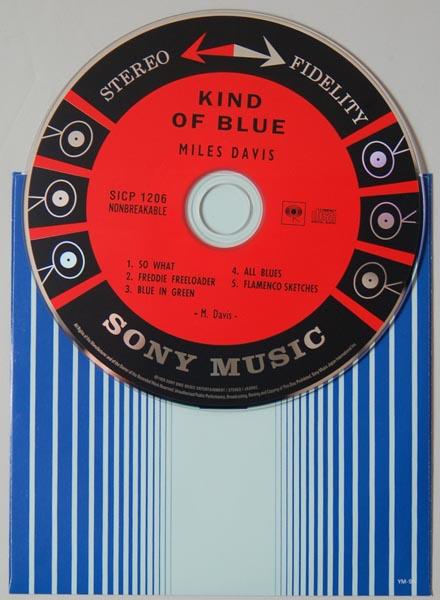 CD, Davis, Miles - Kind Of Blue