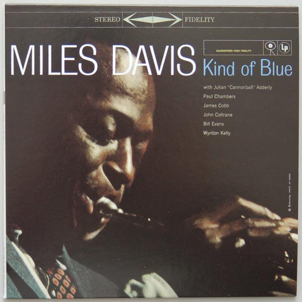 Front Cover, Davis, Miles - Kind Of Blue
