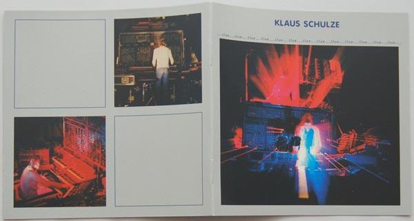 Booklet, Schulze, Klaus  - Live