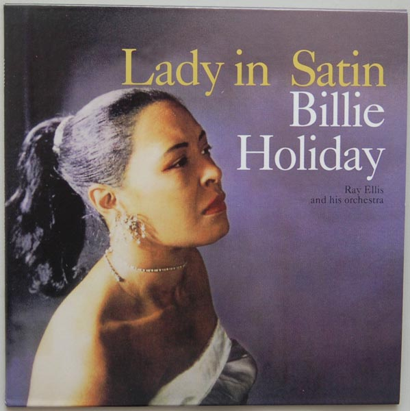 Front Cover, Holiday, Billie - Lady In Satin