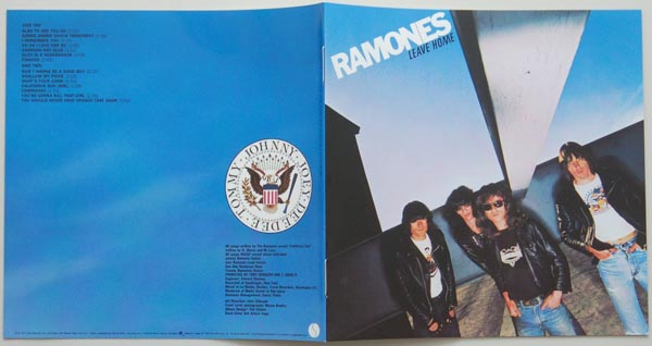 Booklet, Ramones - Leave Home +16