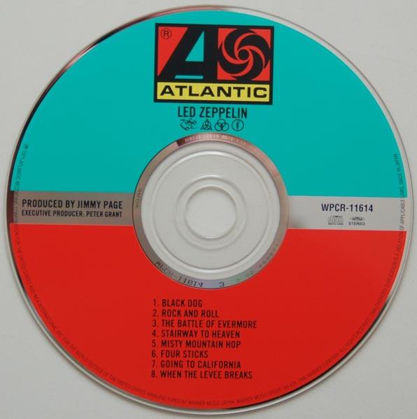 CD, Led Zeppelin - IV (aka Zoso)