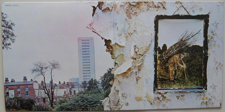 Cover unfold, Led Zeppelin - IV (aka Zoso)