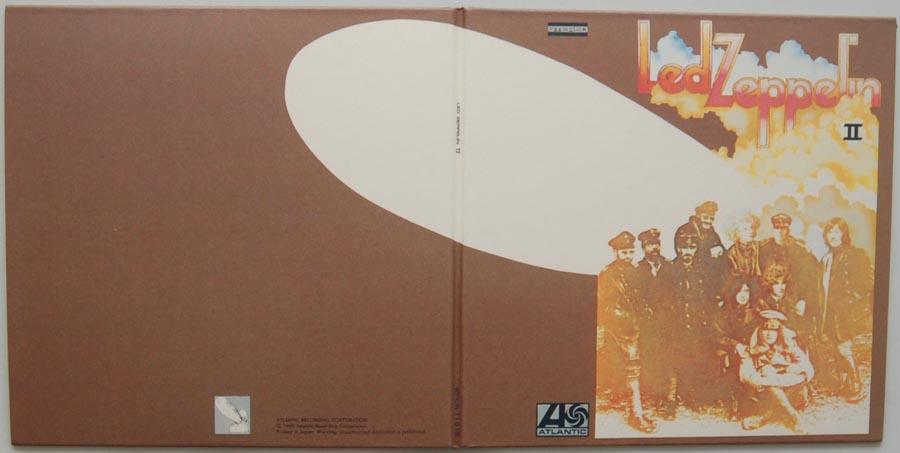 Cover unfold, Led Zeppelin - II