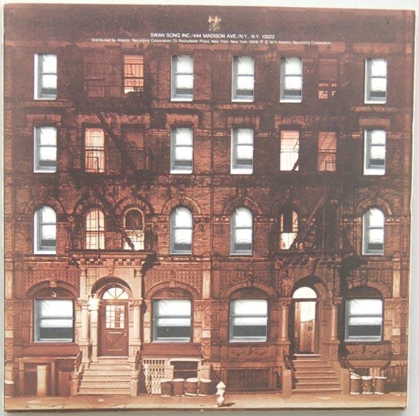 Back cover, Led Zeppelin - Physical Graffiti