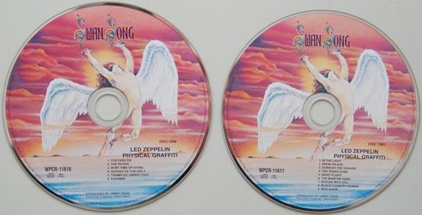 CDs, Led Zeppelin - Physical Graffiti