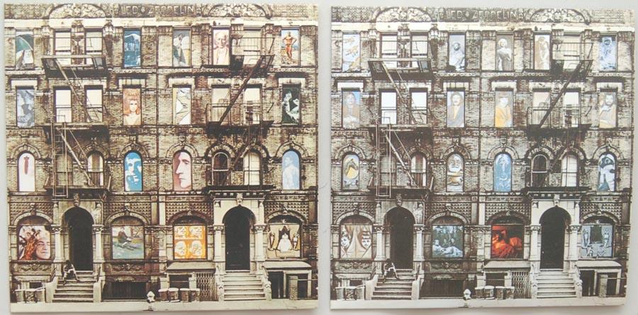 Inner sleeve side A, Led Zeppelin - Physical Graffiti