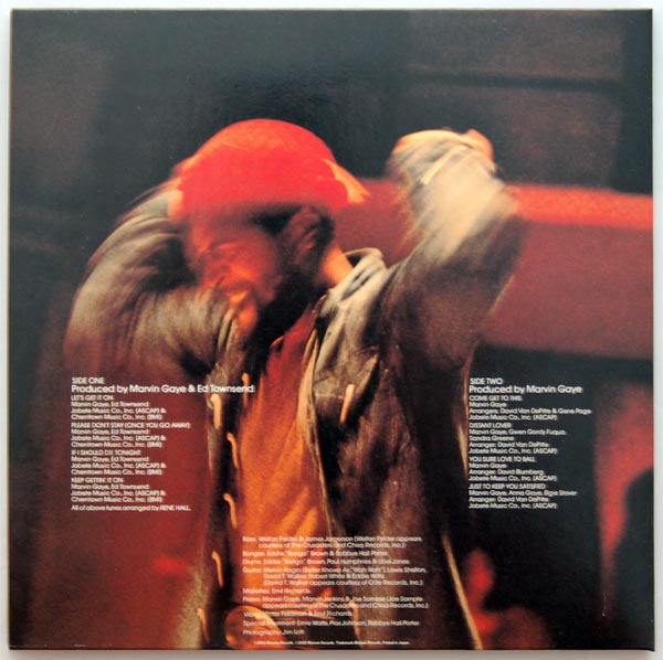 Back cover, Gaye, Marvin - Let's Get It On (+2)