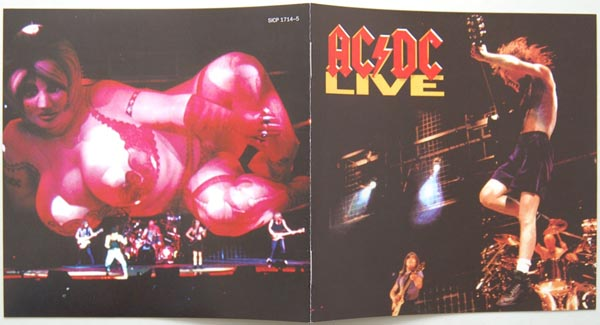 Booklet, AC/DC - Live