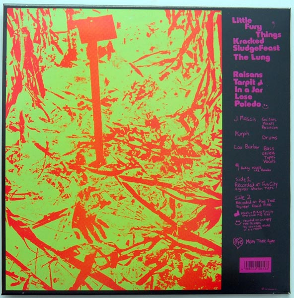 Back cover, Dinosaur Jr. -
