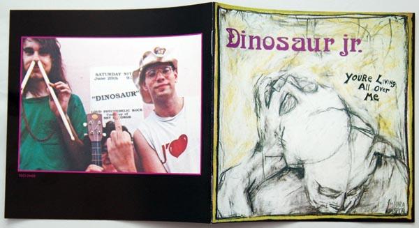 Booklet, Dinosaur Jr. -