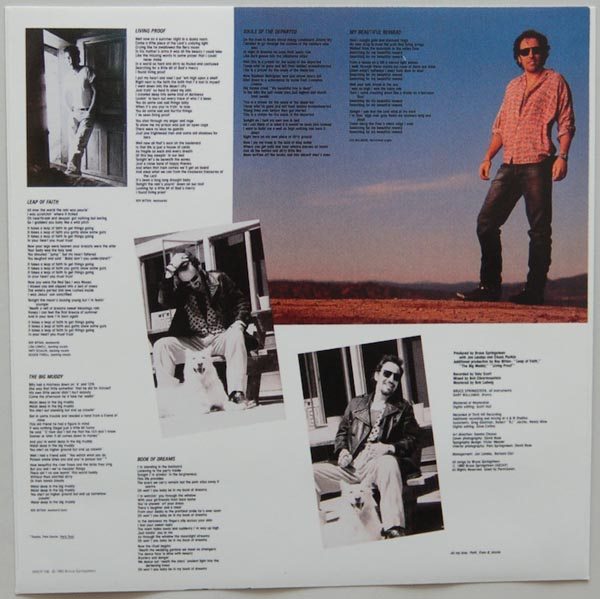 Inner sleeve 1 side B, Springsteen, Bruce - Lucky Town