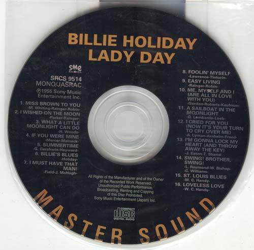 , Holiday, Billie - Lady Day