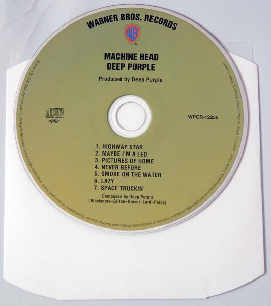 CD, Deep Purple - Machine Head