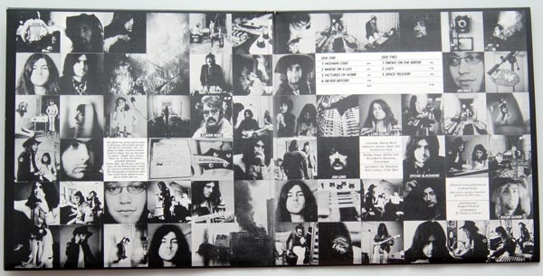 Gatefold open, Deep Purple - Machine Head