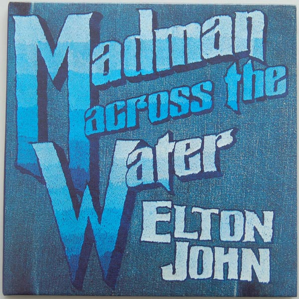 Front Cover, John, Elton - Madman Across The Water