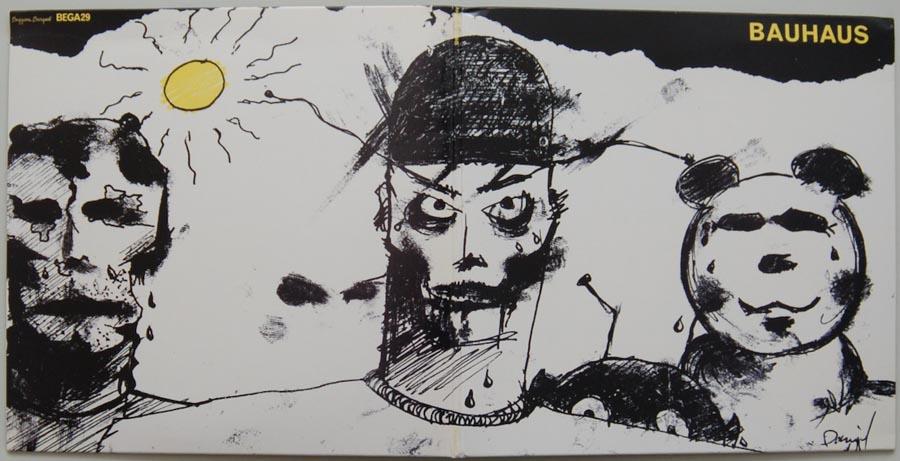 Cover unfold, Bauhaus - Mask