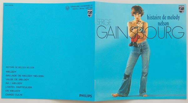 Booklet, Gainsbourg, Serge - Histoire de Melody Nelson