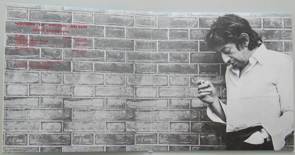 Gatefold open, Gainsbourg, Serge - Histoire de Melody Nelson