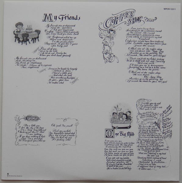 Inner sleeve side B, Red Hot Chili Peppers - One Hot Minute