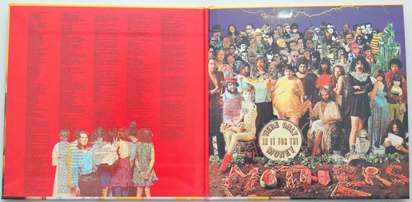 Gatefold open, Zappa, Frank - We're Only In It For The Money