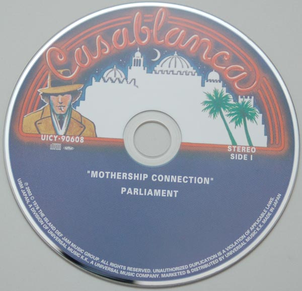 CD, Parliament - Mothership Connection