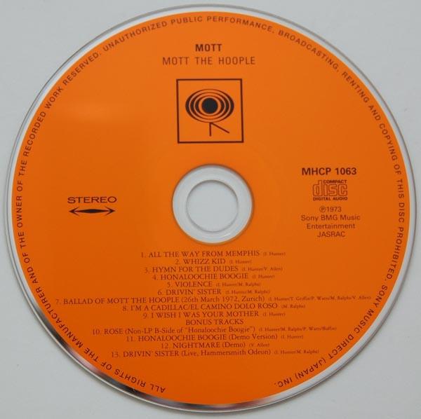 CD, Mott The Hoople - Mott +4