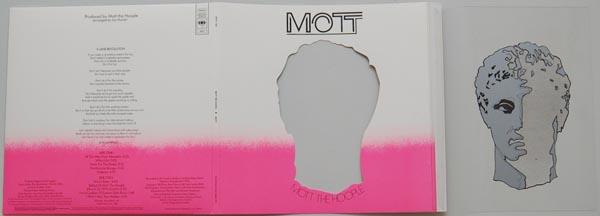 Unfolded cover, Mott The Hoople - Mott +4