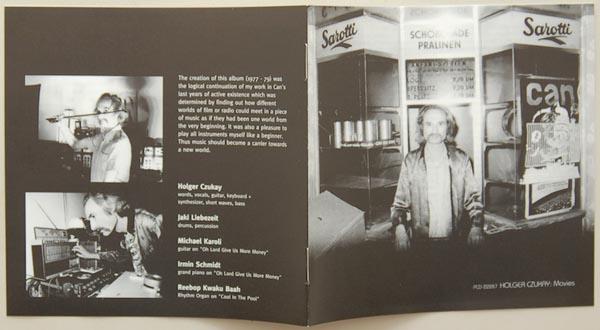 Lyric book, Czukay, Holger - Movies