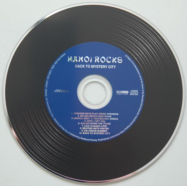 CD, Hanoi Rocks - Mystery City