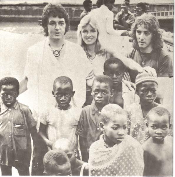Inner Sleeve, McCartney, Paul - Band On The Run