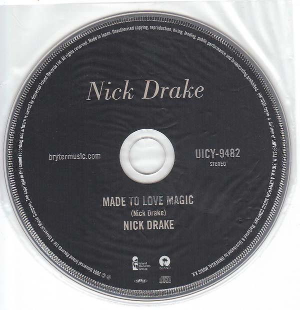 CD, Drake, Nick - Made To Love Magic