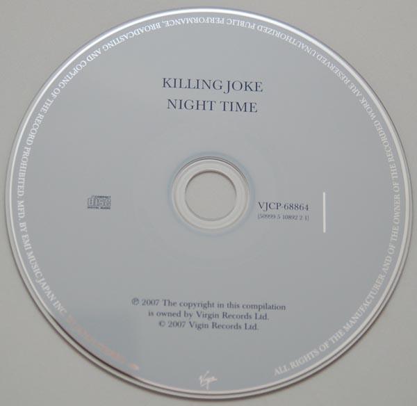 CD, Killing Joke - Night Time