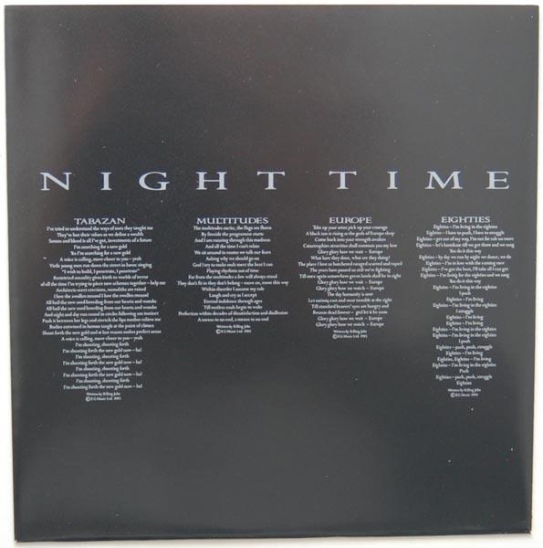 Inner sleeve side B, Killing Joke - Night Time