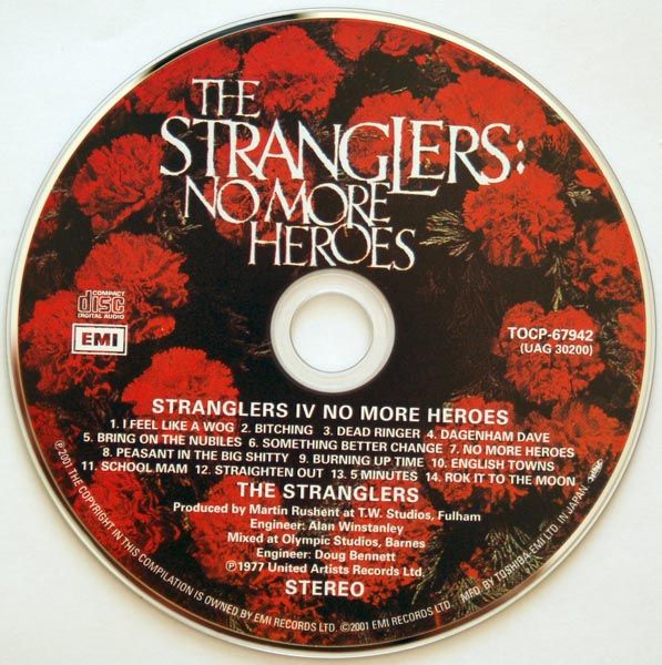 CD, Stranglers (The) - No More Heroes