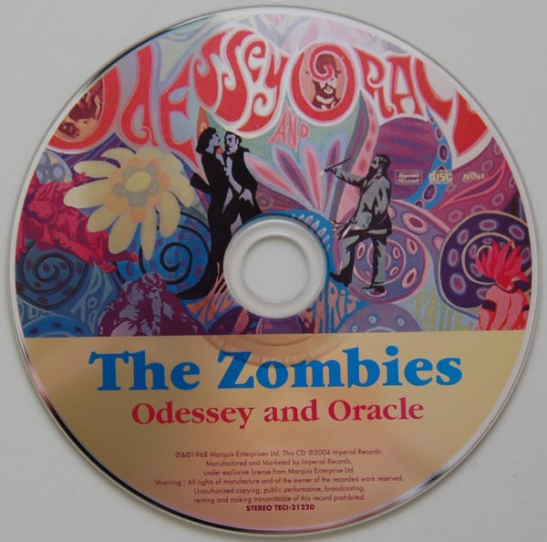 CD, Zombies (The) - Odessey and Oracle +3