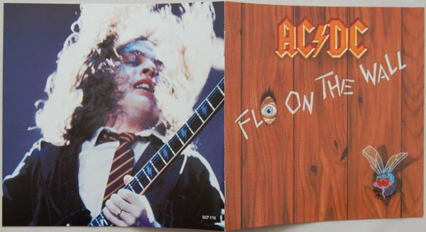 Booklet, AC/DC - Fly On The Wall
