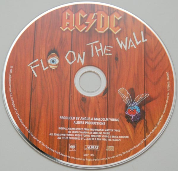 CD, AC/DC - Fly On The Wall