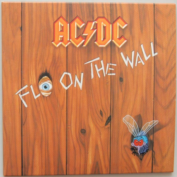 Front Cover, AC/DC - Fly On The Wall