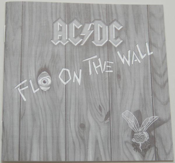Lyric book, AC/DC - Fly On The Wall