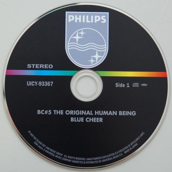 CD, Blue Cheer - The Original Human Being