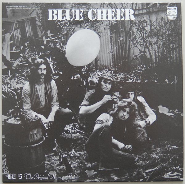Front Cover, Blue Cheer - The Original Human Being