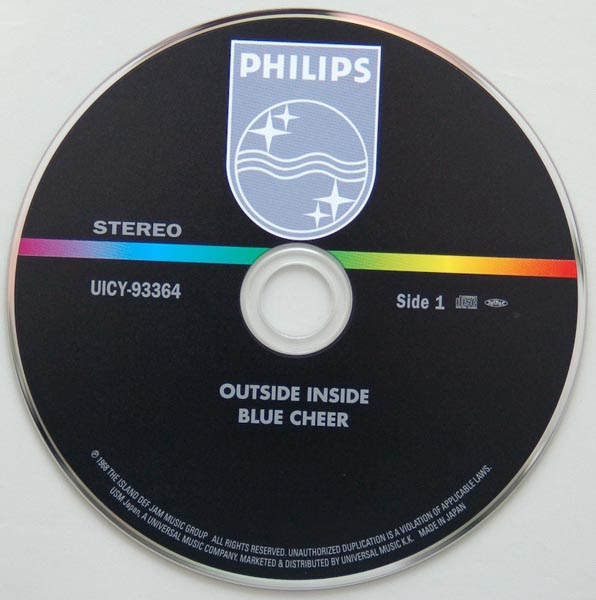 CD, Blue Cheer - Outsideinside