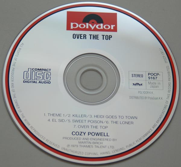 CD, Powell, Cozy - Over The Top