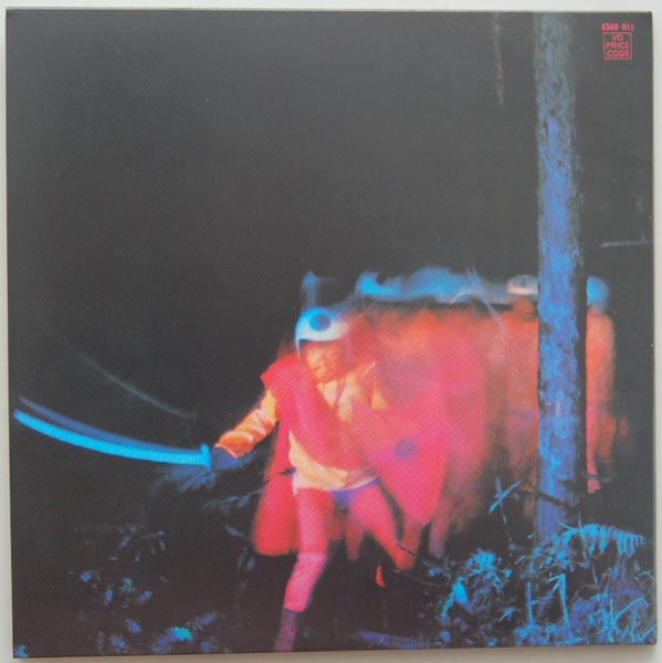 Back cover, Black Sabbath - Paranoid
