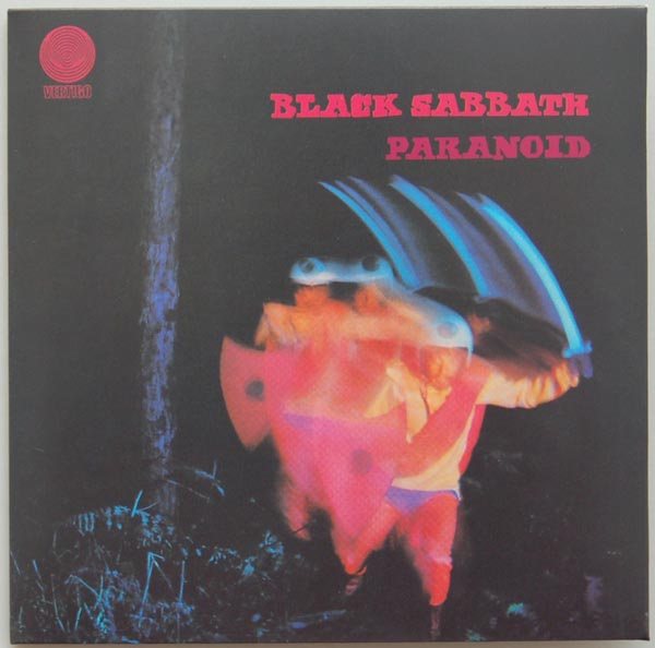 Front Cover, Black Sabbath - Paranoid